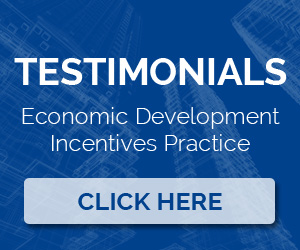 cconomic development incentives practice testimonials