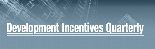 Photo for Development Incentives Quarterly